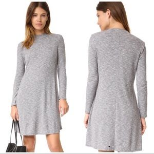 Madewell Knit Mock Neck Sweater Dress